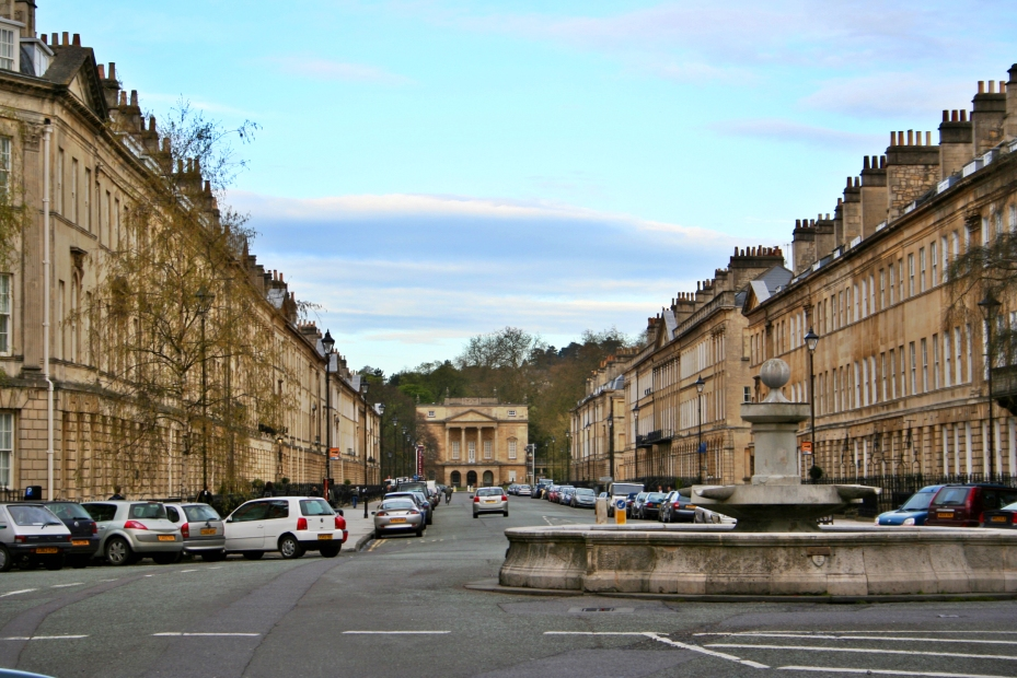 The magnificent Great Pulteney Street