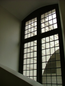 This reminds me of a Charles Rennie MackIntosh window. AG