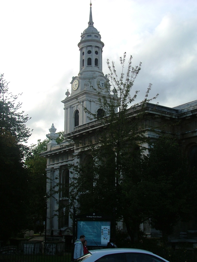 St.Alfege Parish Church, Greenwich, designed by Nicholas Hawksmoor