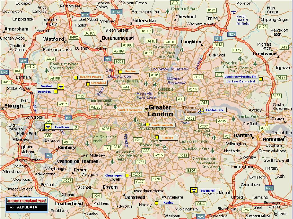 Printable Map Of England And – Printable Map of London England