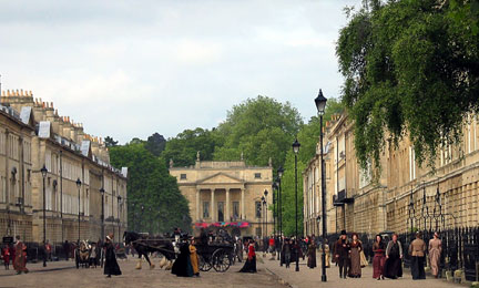 Great Pulteney Street, on another day