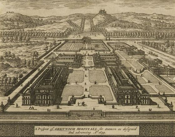Greenwich engraving