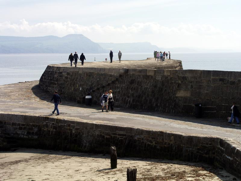 The infamous Cobb, at Lyme Regis