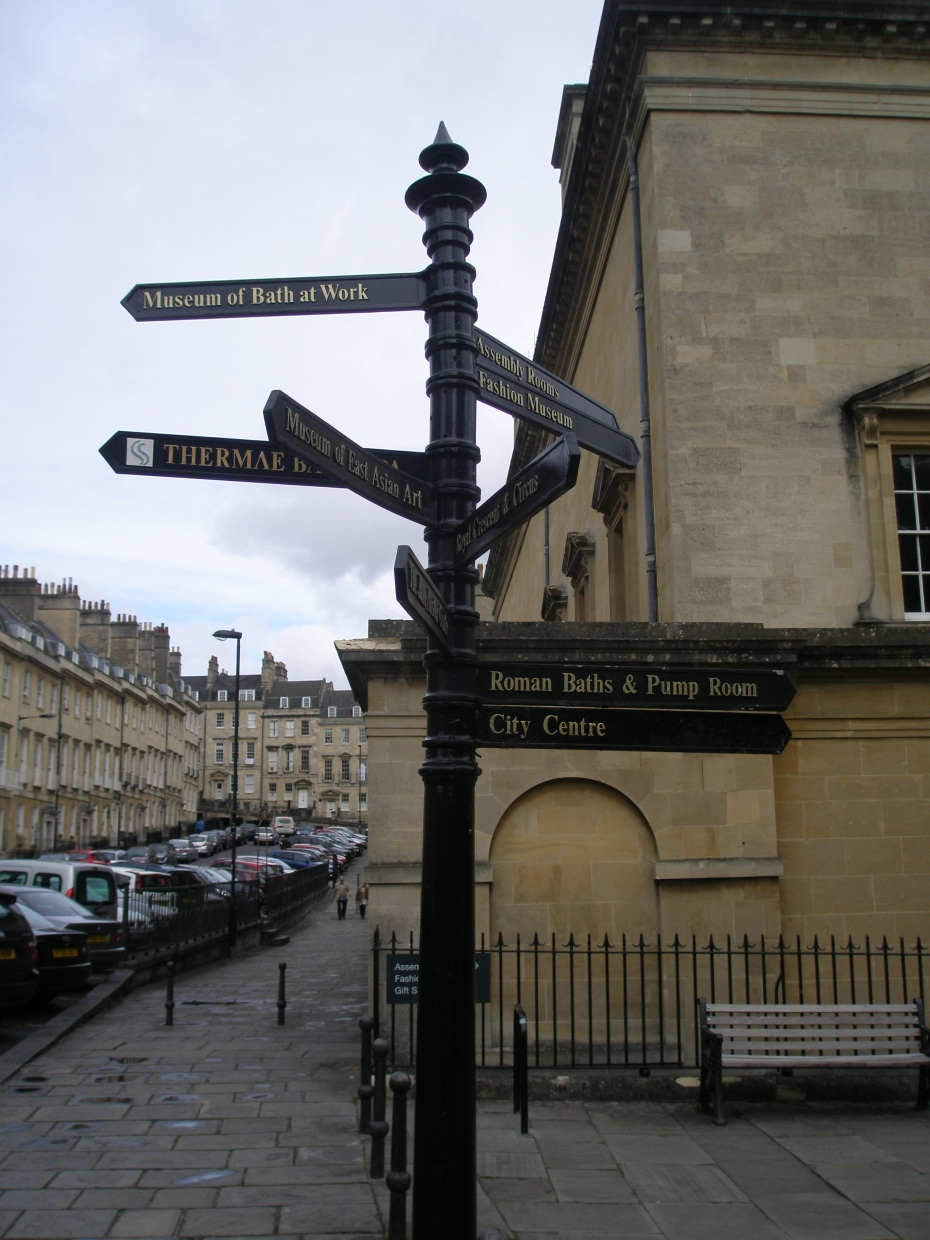 It's impossible to get lost in Bath