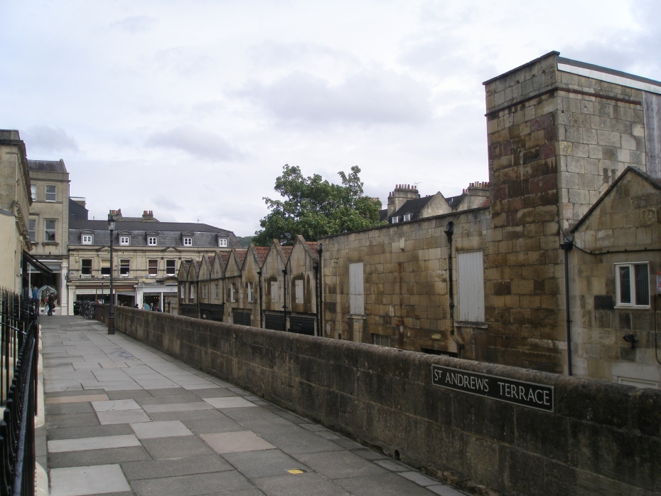 Saint Andrew's Terrace, overlooking Stable Lane
