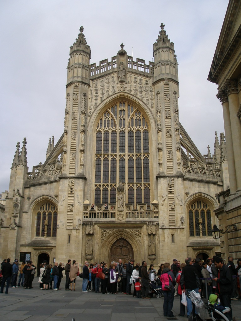 Bath Abbey, West Face