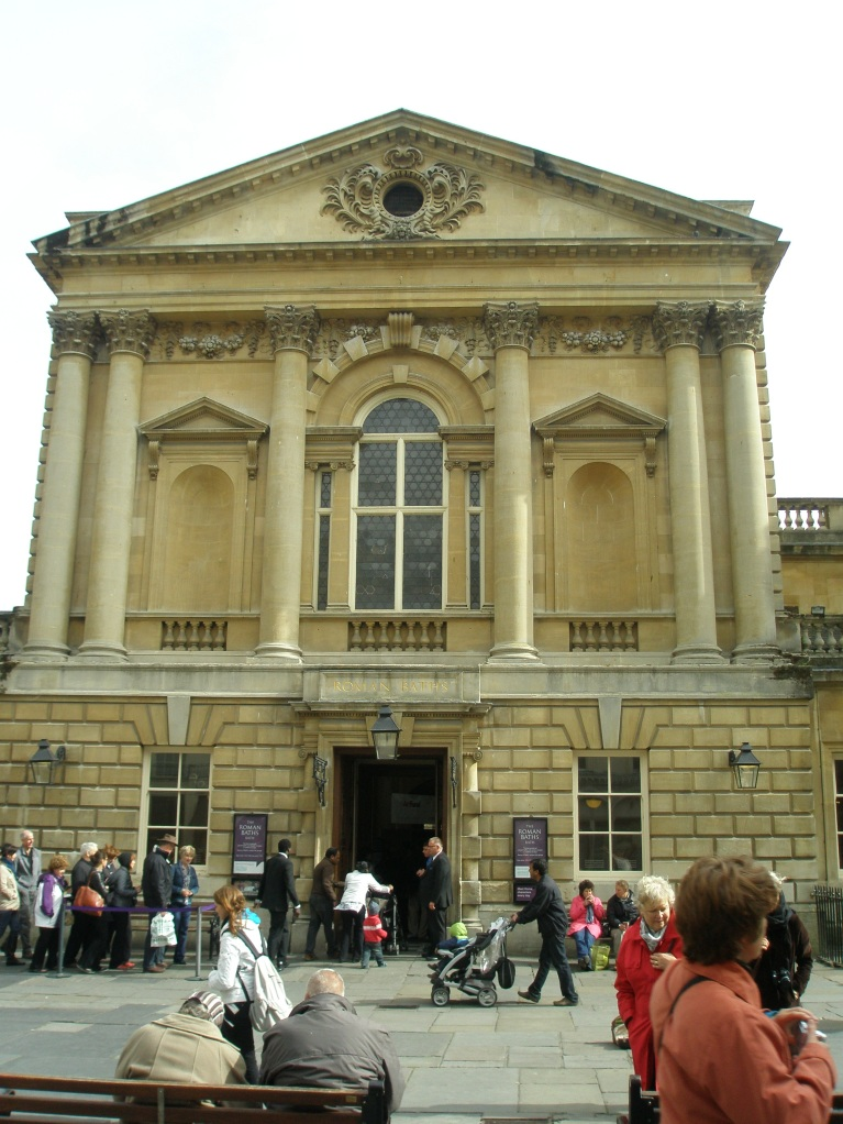 Entry to the Roman Baths