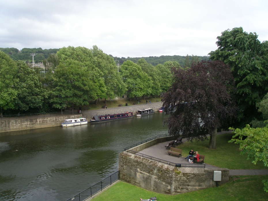 River Avon by Parade Gardens