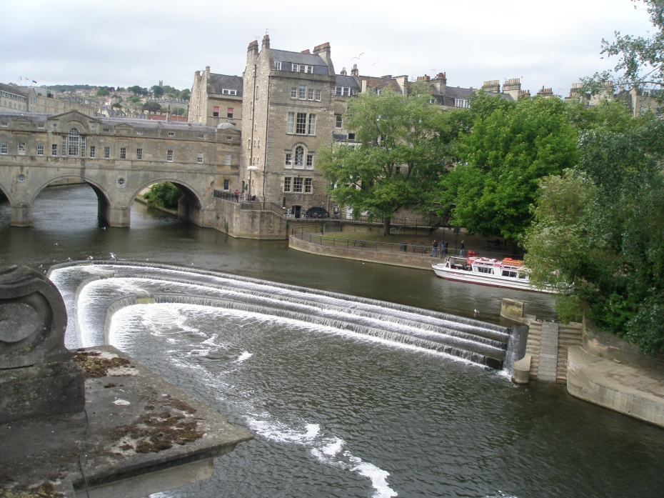 The River Avon is still a much-used waterway