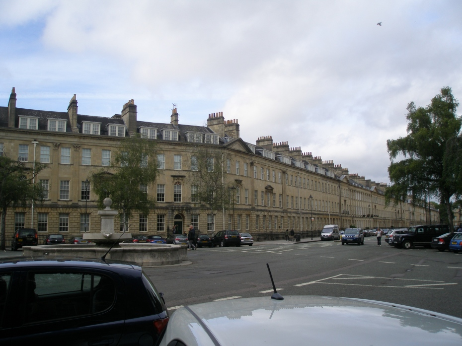 Great Pulteney Street at Laura Place