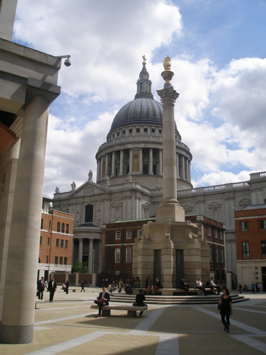 St.Paul's Cathedral, seen from Paternoster Square
