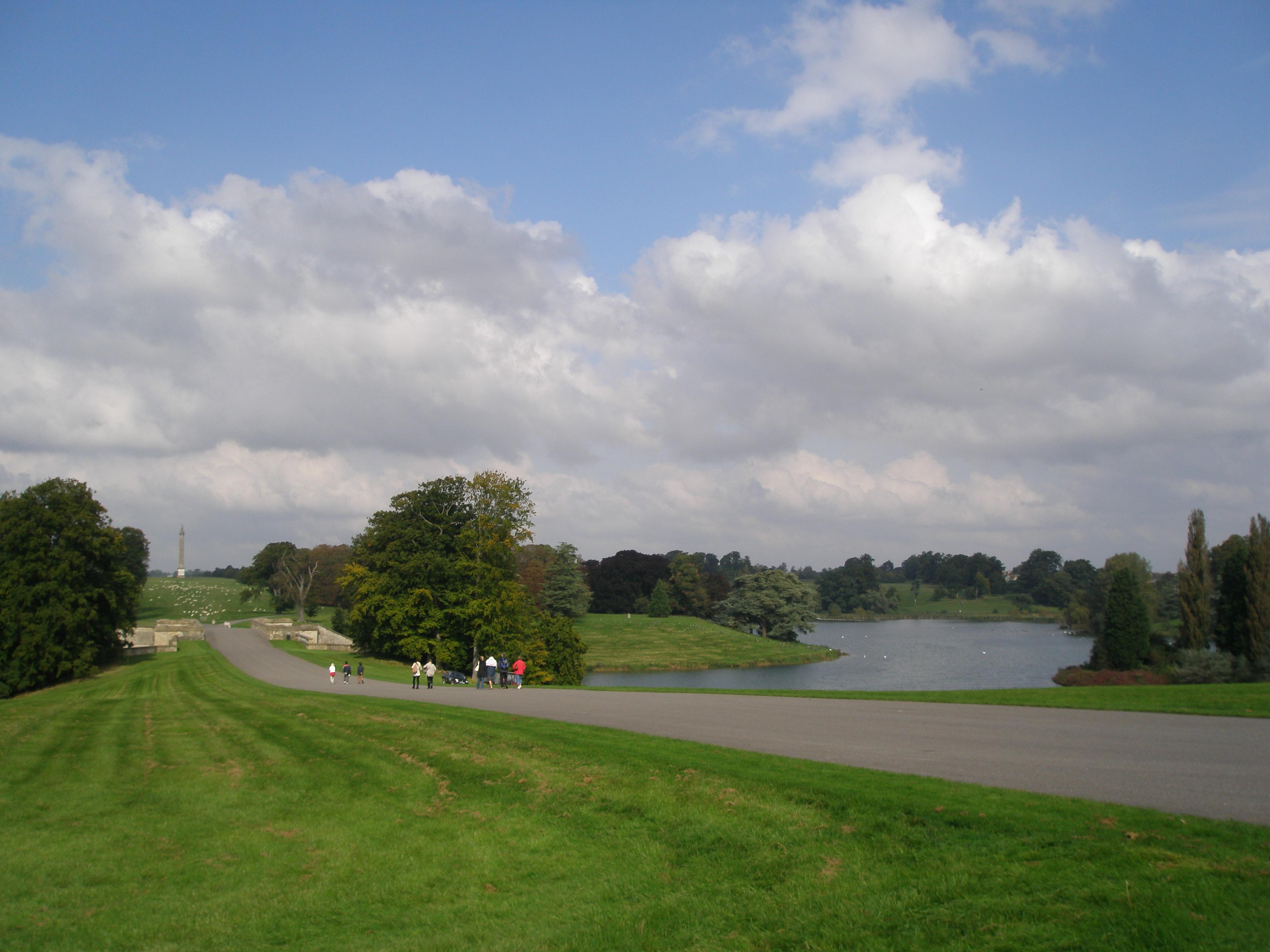 "Lancelot ""Capability"" Brown's handiwork at Blenheim Palace"