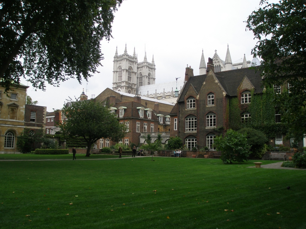 Westminster Abbey's College Garden, which is still used to grow medicinal herbs