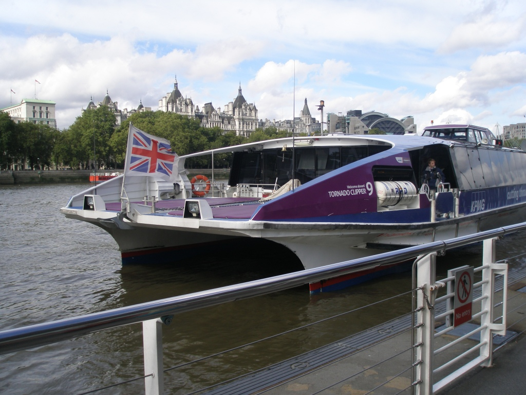 A Thames Clipper