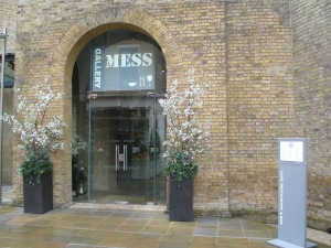 Gallery Mess Restaurant. Adjacent to the Saatchi Gallery in Duke of York Square, Chelsea.