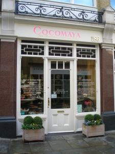 Cocomaya Cafe, near Sloane Square