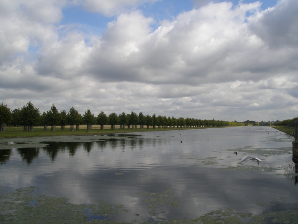 The Long Water, with its avenue of scented lime trees, was created for Charles II in 1660