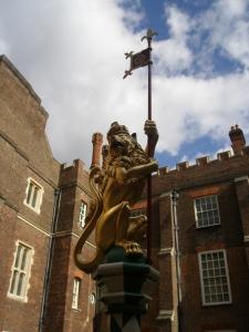 Heraldic Beast in Chapel Court