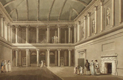 The Tea/Concert Room in Austen's time
