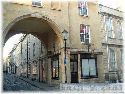 A now-gentrified Trim Street