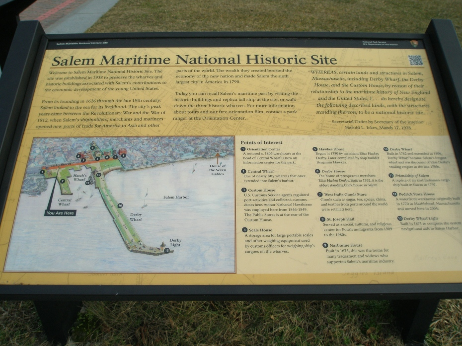National Parks: Maritime Site Map