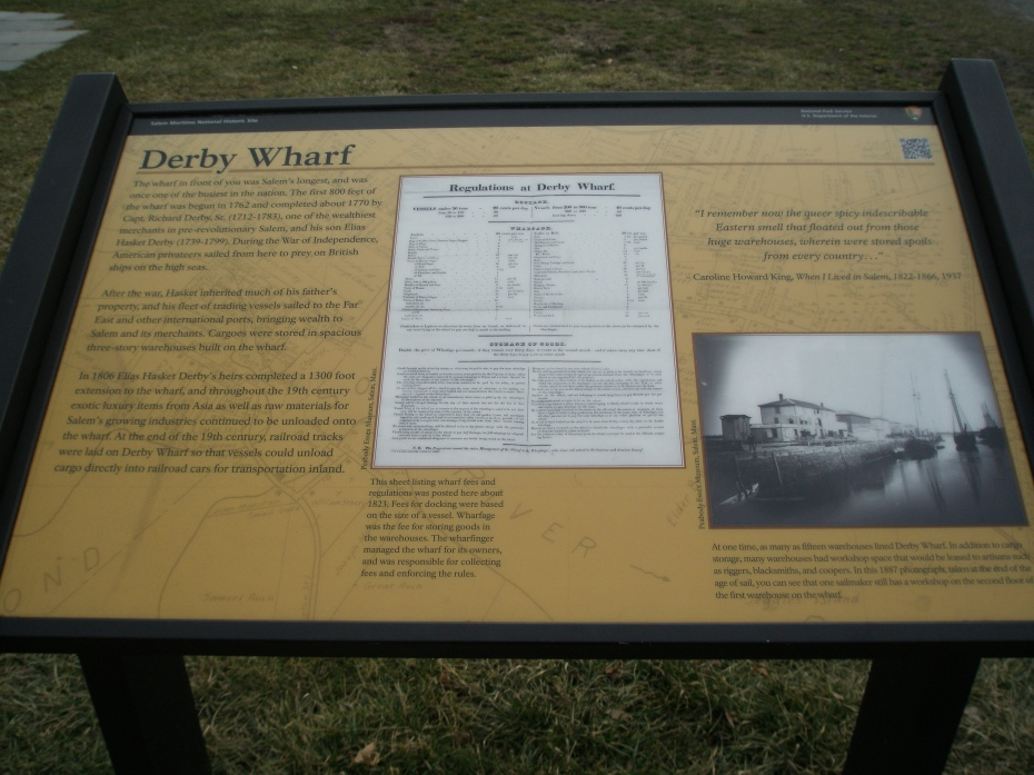 National Parks: Derby Wharf