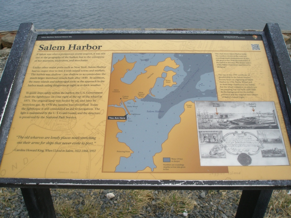National Parks: Salem Harbor Map
