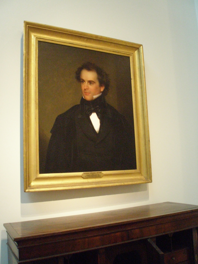 Painting of Nathaniel Hawthorne in his prime, by Charles Osgood. Courtesy of the Peabody Essex Museum