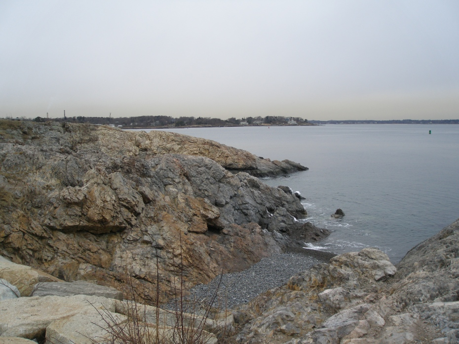 On Marblehead Neck, looking West,  past Marblehead Village, and beyond, toward Salem