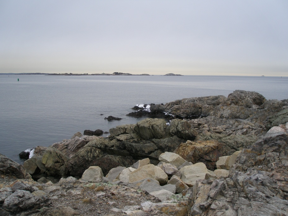 On Marblehead Neck, looking East, toward the Atlantic Ocean