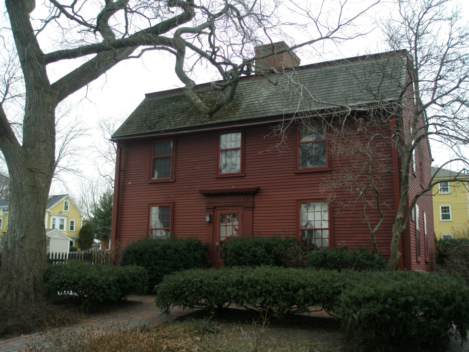 Nathaniel Hawthorne was born in this house on 4 July 1804, when it was situated at 27 Union Street. The modest gambrel-roof structure was moved to its present site in 1958.