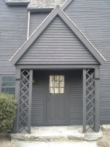 Main Entry, The House of the Seven Gables