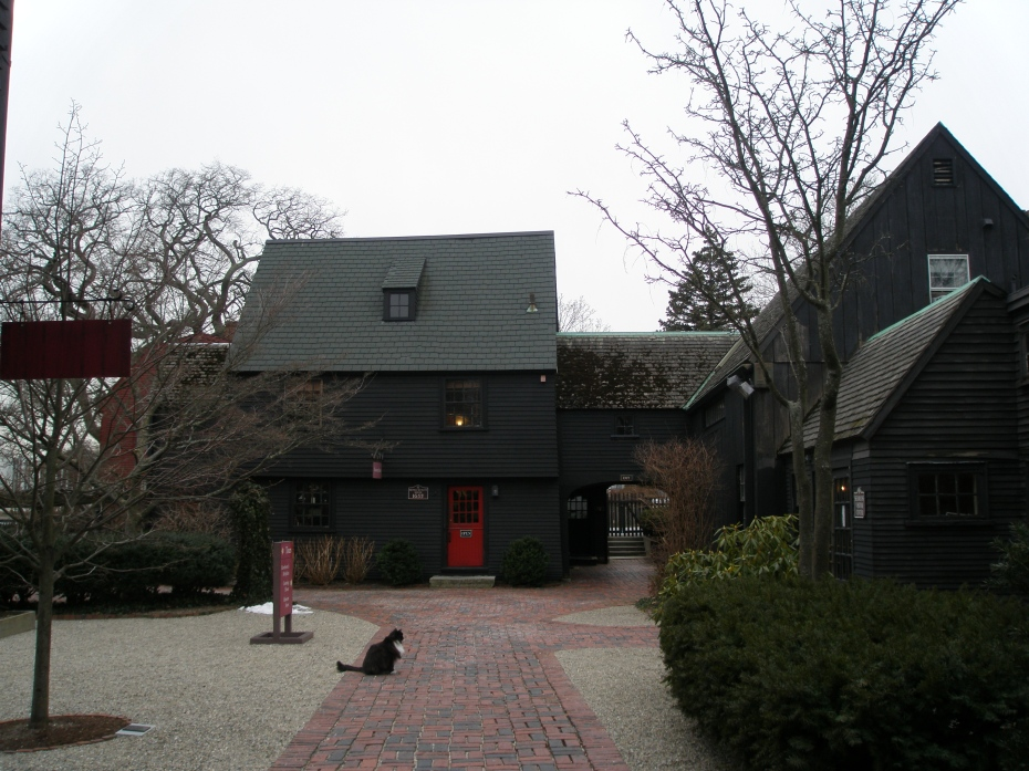 Entry to the grounds of The House of the Seven Gables Historic Site