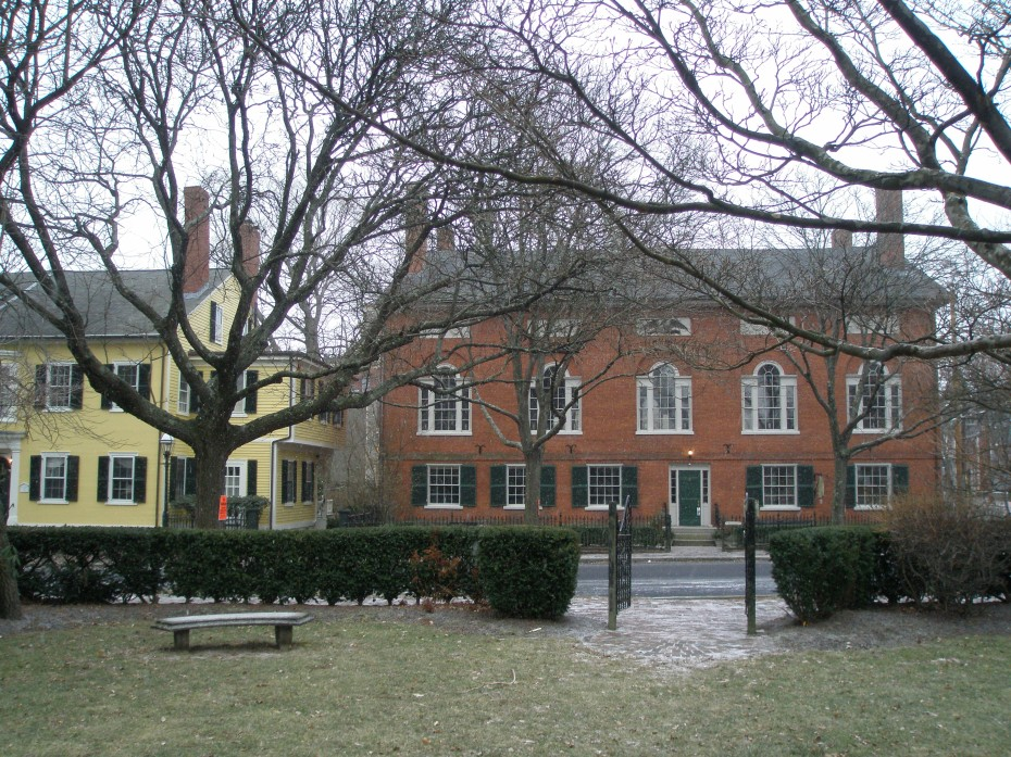 Hamilton Hall, seen from park across the street.