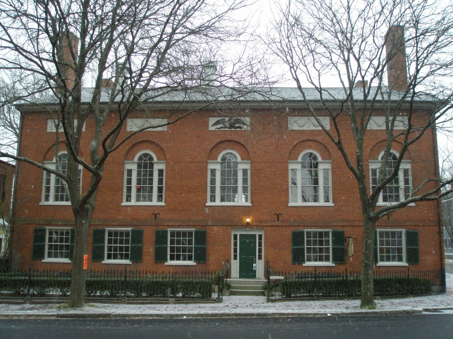 Hamilton Hall. #9 Chestnut Street.