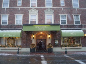 The Hawthorne Hotel, on Salem Common