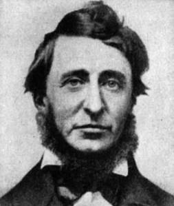 Henry David Thoreau, who was apparently tonsorially-inspired by the Emerson-Look.