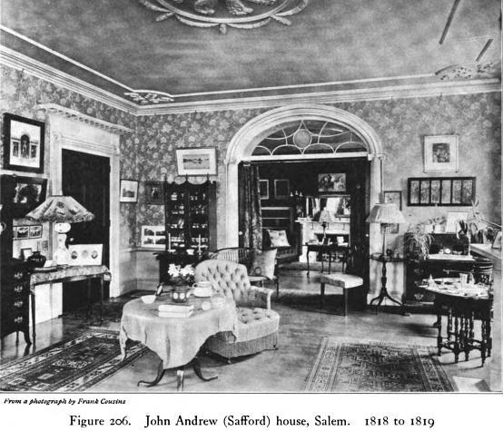 Main Salon. Andrew-Safford House...as over-decorated within, as without.
