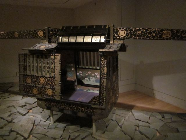 Japanese Palanquin. Photo courtesy of Richard Stein.