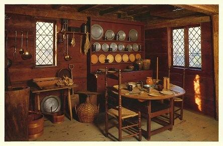 Interior--John Ward House