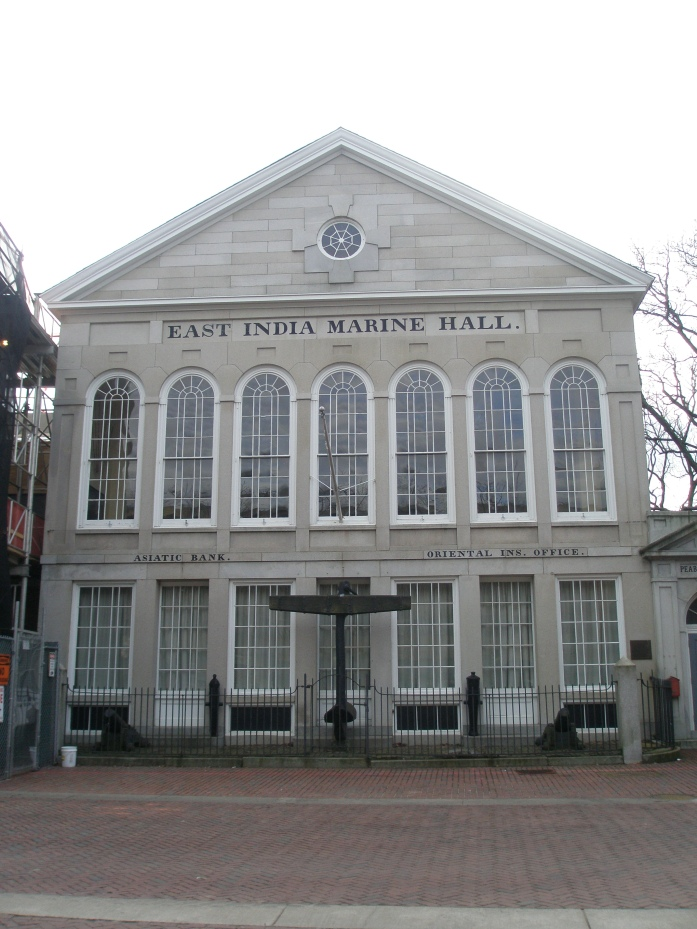 East India Marine Hall, now part of the Peabody Essex Museum