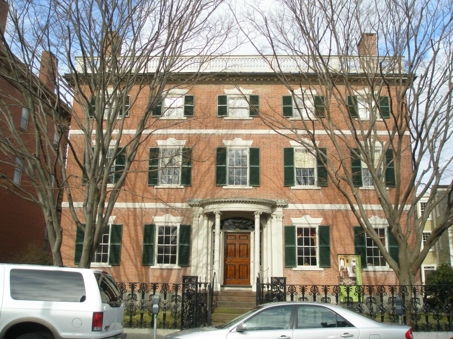 Gardner-Pingree House. 128 Essex St. One of the most outstanding Adamesque Federal town houses in America. Built in 1804...perfectly proportioned...the best of the best. Design attributed to Samuel McIntire.
