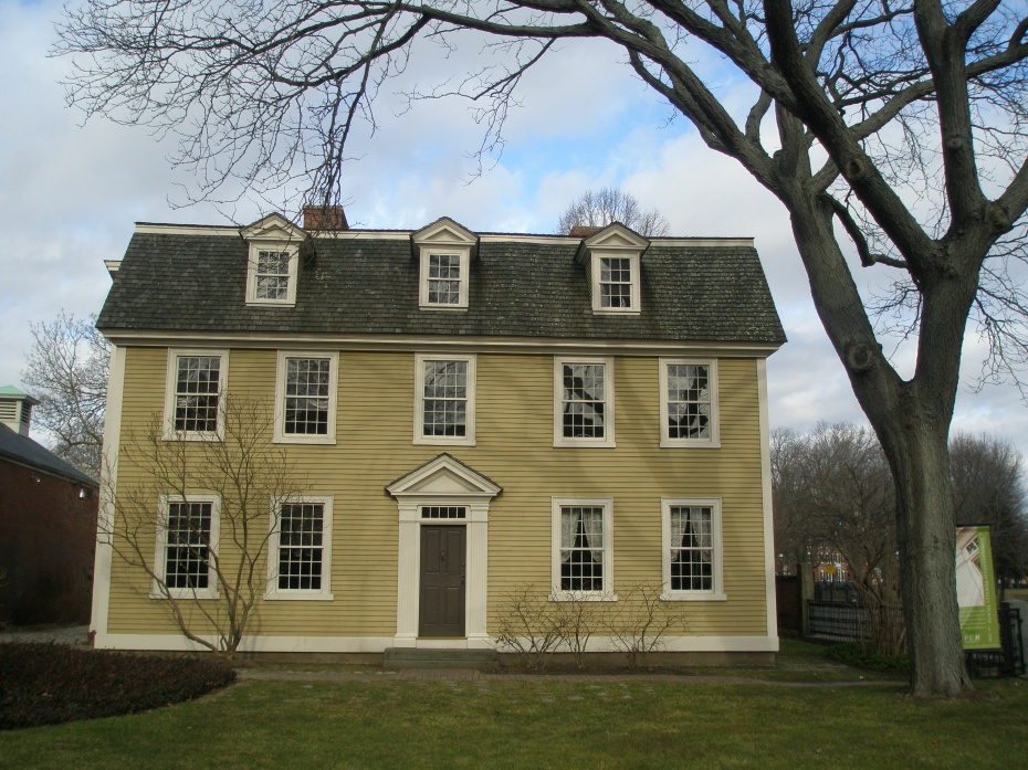 Crowninshield-Bentley House. 126 Essex St. The epitome of a Georgian Colonial house..presenting a chaste and timeless face to the world. Built in 1727.