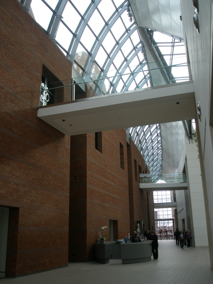 Further along into the Entry Hall