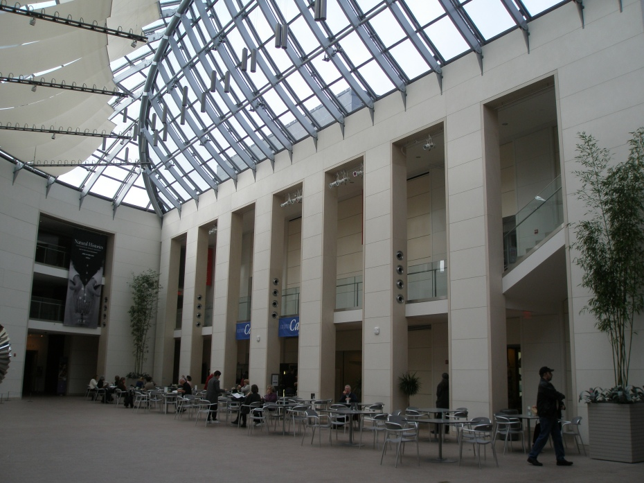 The Atrium Cafe, before opening hours
