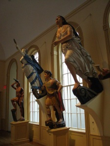 East India Marine Hall figureheads