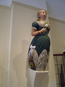 Figurehead in East India Marine Hall