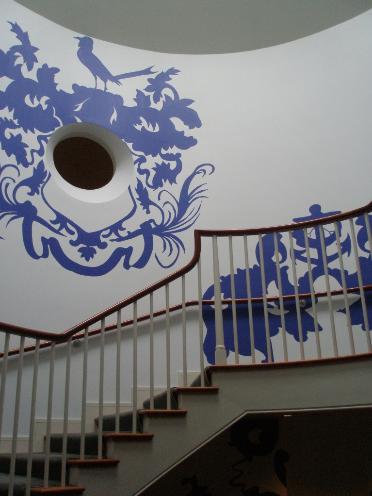 Michael Lin's painted stairwell
