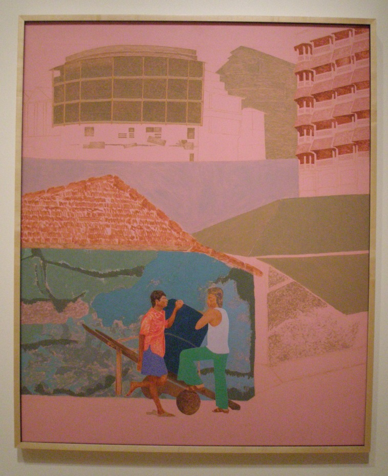 Gieve Patel. TWO MEN WITH HANDCART. 1979.