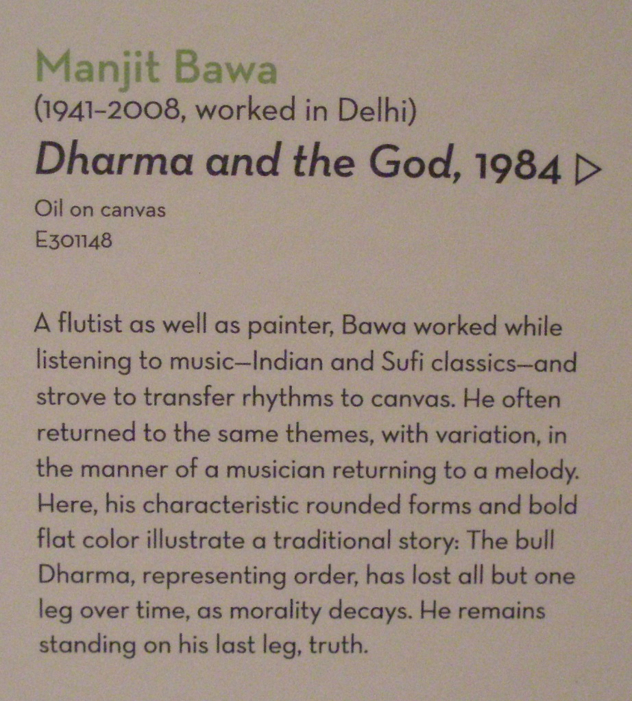 Exhibition notes for DHARMA & THE GOD